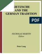 9724321 Nicholas Martin Nietzsche and the German Tradition