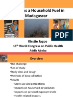 Kirstie Jagoe and Gaia Association Presents on WB Madagascar Study at 13th World Congress on Public Health