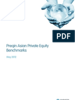 Preqin Asian Private Equity Benchmarks