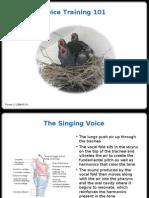 Voice Training 101