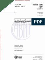 NBR ISO 24803 2008
