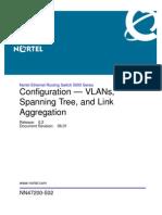 Configuration VLANs Stp Ers 5000