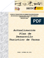 Plan de Desarrollo de Tacna Actualizacion -Pbch- Oct. 2002