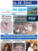 JORNAL FOLHA DE UNAÍ -  Edição 21 - Maio de 2012