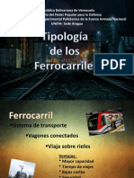 Tipos de Ferrocarriles