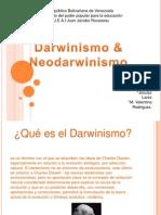 drwinismo y neodarwinismo