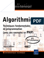 Algorithmique - Techniques Fond Amen Tales de Program Mat Ion (Exemples en PHP)