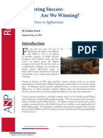 Measuring Success - Are We Winning - 10 Years in Afghanistan -May 2012