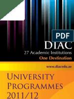 Uni Programmes 2011
