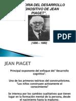 La Teoria Del Desarrollo Cognocitivo de Jean Piaget