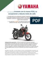 CP_Yamaha FZ16 Arremete Con Potencia en Chile