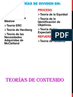 TEORÍAS DE COMPORTAMIENTO ORGANIZACIONAL CRIS