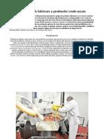 Tehnologia de fabricare a produselor crude-uscate