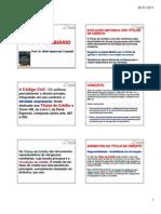 aula 1 - Direito Cambiário 6 periodo