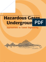 Hazardous Gases Underground Applications to Tunnel Engineering Civil and Environmental Engineering