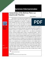 Relaciones Chile, Bolivia, Perú