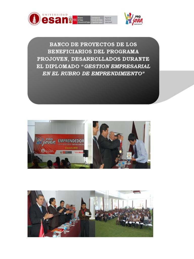 4f07f59cbaab3 Banco de Proyectos Projoven