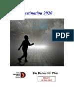 Destination 2020 -- 10 May 2012