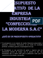 LA MODERNA S.A.C