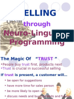 Selling Through NLP (June 2011)