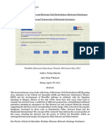 Network Architecture and Electronic Civil Disobedience