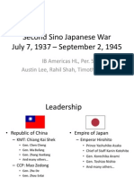 Chapter 15-Second Sino-Japanese War (Tim, Austin, Rahil)
