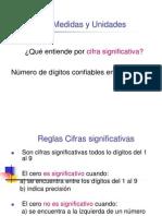 Cifra Significativa y UnidadesS1