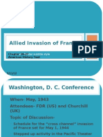 Chapter 16-Allied Invasion of France