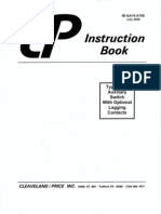 Cleveland Price Aux Switch Manual