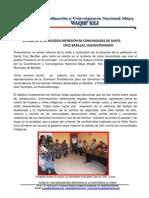 Reporte Primer Dia Situacion Derechos Humanos en Santa Cruz Barillas 100512