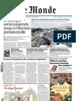 Le Monde Çditorial 30 dÇcembre 2010