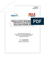 Lemal2-Regulatory Requirements for Site Evaluation of Npp