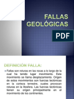 Fallas Geologicas y Pliegues