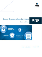 HRIM Risks and Controls 2011