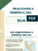 Migraciones America Del Sur