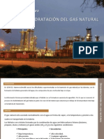 Deshidratación del gas natural