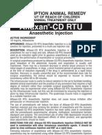 Alfaxan CD Rtu Leaflet Australia Feb 06