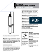 FElectric Submersible Pumps Owner's Manual