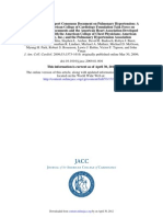 JACC 2009 PAH Expert Consensus Document