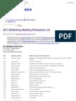 2011 Bilderberg Meeting Participant List   Public Intelligence