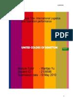 33283608 Benetton Logistics Assignment