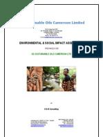 Sgsoc Esia Oils Cameroon Limited