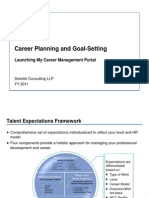 Goal Setting +Career Management Portal Guidelines - FINAL