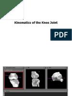 Kinematics of Knee Joint