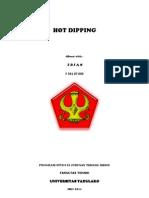 Tugas Perlakuan Permukaan _hot Dipping