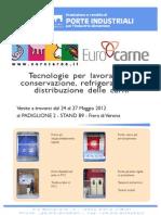 Eurocarne 2012 - Porte Flessibili