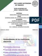 General Ida Des de Las Mediciones Electric As