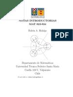 Notas Introductorias MAT023-MAT024