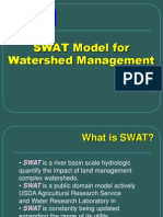การใช้แบบจำลอง SWAT