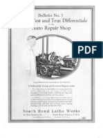 1933 - How to Test and True Differentials in the Auto Repair Shop - Bulletin No. 5